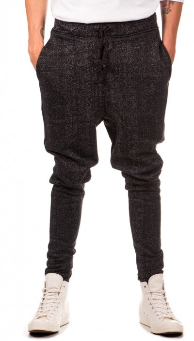 Jogging Bottoms - Black Speckled