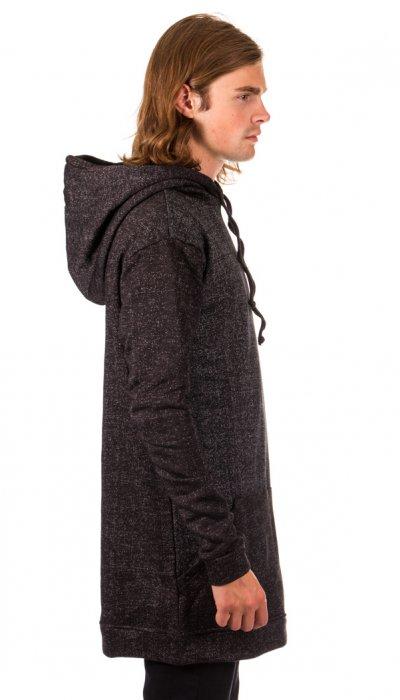 Hooded Sweater - Black Speckled