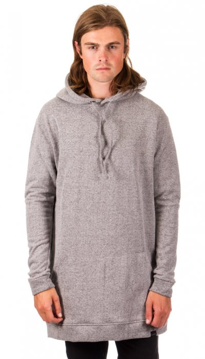 Hooded Sweater - Grey Speckled