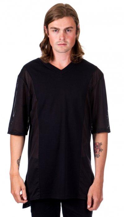 3 Panel T-Shirt - Black