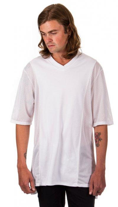 3 Panel T-Shirt - White